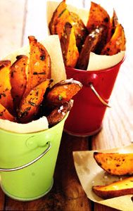 These are amazing sweet potato fries!
