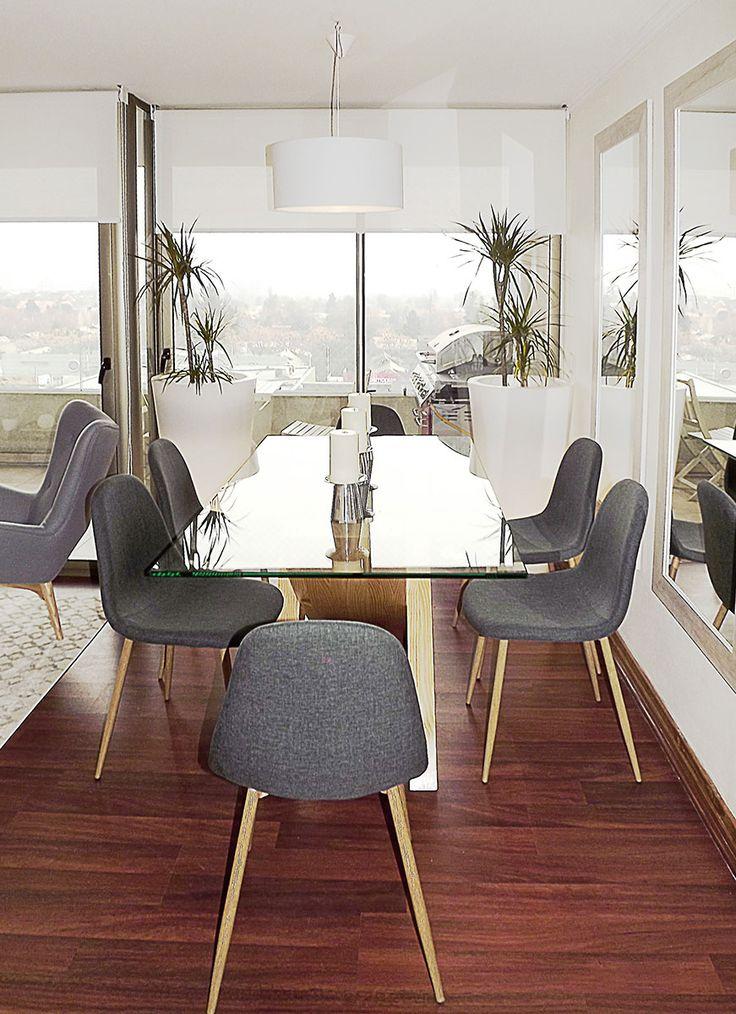 Decoraci n de living comedor minimalista m casa for Living comedor minimalista