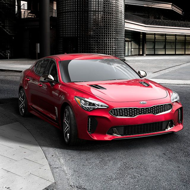 The New Paradigm Of Gran Turismo Delivering High Performance And Supreme Comfort On The Open Road Not For The Faint Hearted Kia Stinger Kia Sports Sedan
