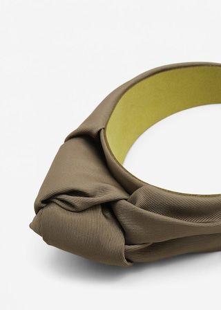Diadema estilo turbante - Más accesorios de Mujer | MANGO España