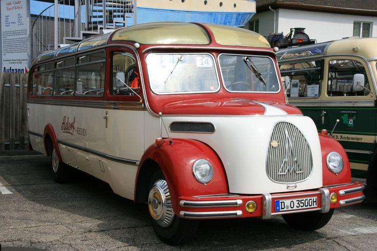 1953 Magirus-Deutz O3500 bus