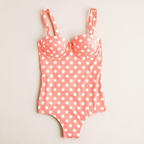 Gotta love an itsy bitsy teeny weeny polka dot bikini.