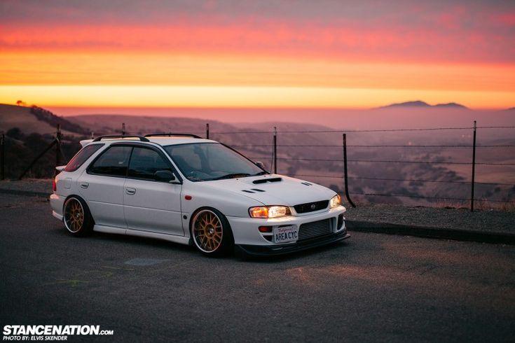 Refined Modesty // Kenji RHD Subaru WRX STI. | StanceNation // Form > Function www.wheelhero.com