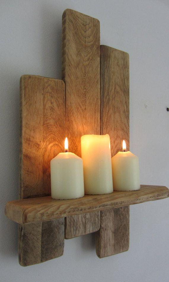 Las 25 mejores ideas sobre estantes de pared flotante en - Estantes de madera para pared ...