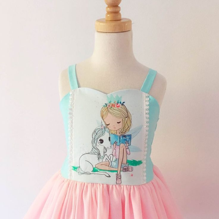 Unicorn dress, unicorns, unicorn party, girls dress