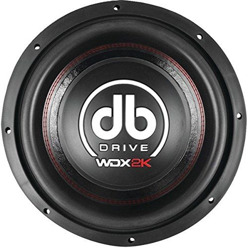 "DB Drive WDX12 2K Wdx Series Competition Subwoofer (12""). 2,000w Max. 120oz Ceramic Ferrite Magnet. 3"" High Temperature Voice Coil. High-grade, Low-carbon Steel On Top & Bottom Plates. Designed To Optimize Spl Performance."
