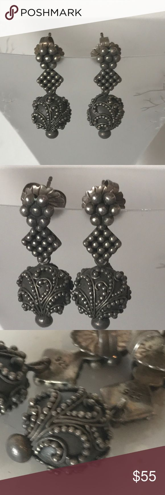 Vintage Lois Hill SS 9.25 Earrings Bought at Nordstrom's & Worn Once! Lois Hill Jewelry Earrings