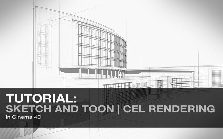 [tutorial | cinema4d] Sketch and Toon Rendering Outlines https://vimeo.com/87709016