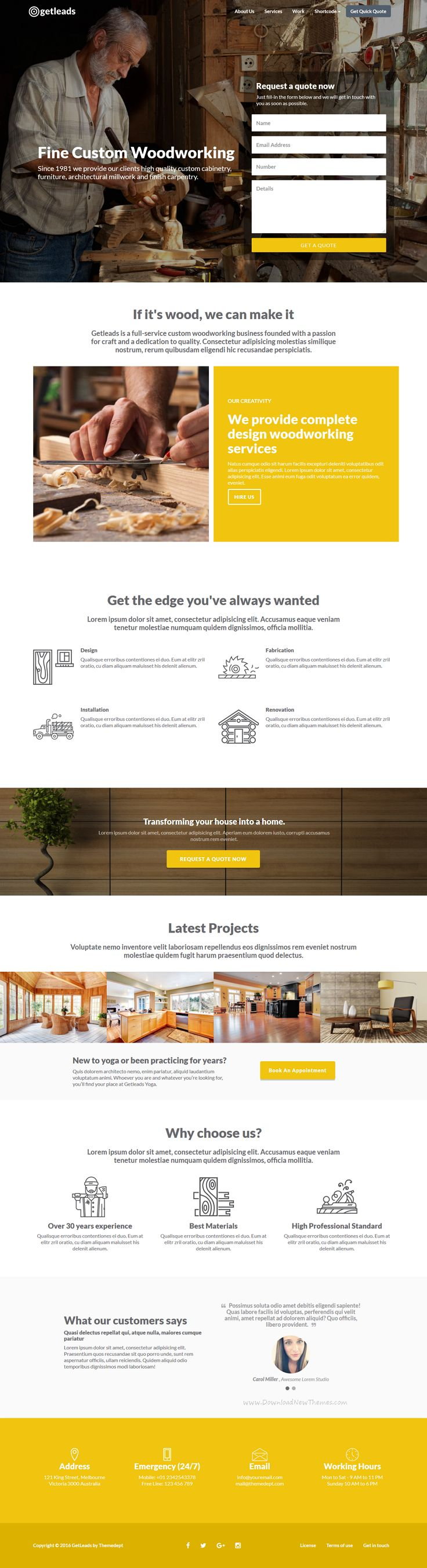 22 best 22 Best Responsive Landing Page Templates for 2016 images on