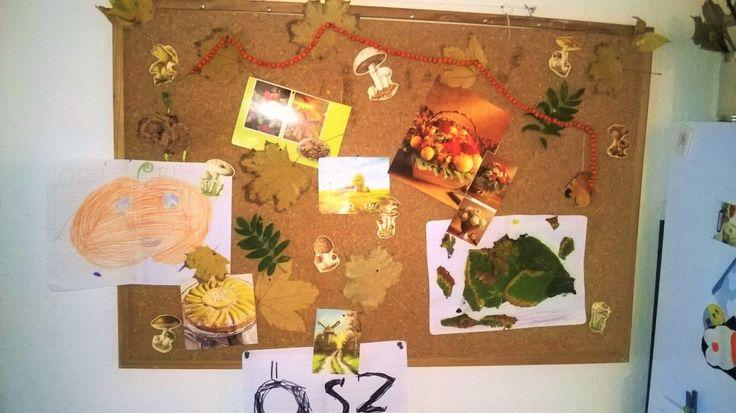 őszi tabló