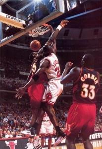 Jordan wearing Air Jordan 12