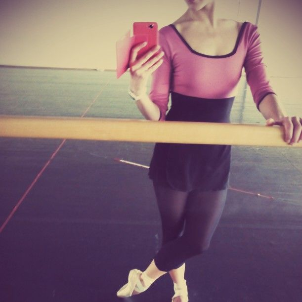 Rehearsing in Tatevik Dancewear