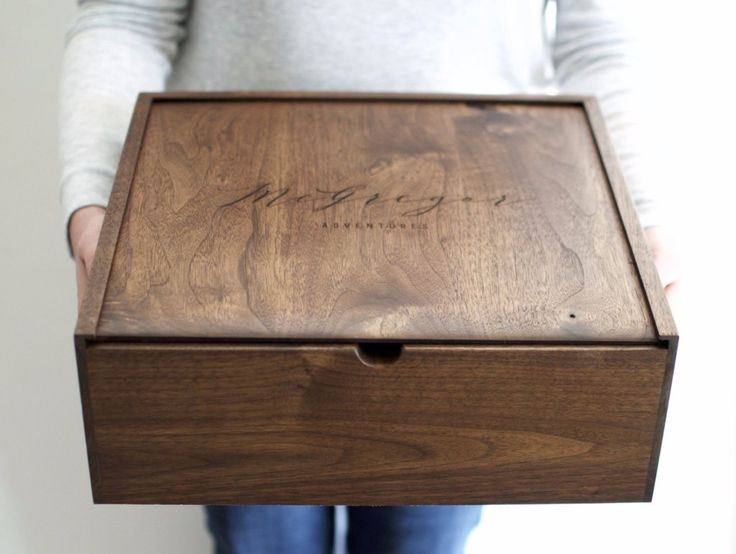 "A keepsake worthy of your adventures. Hold on to your greatest memories with our handcrafted walnut keepsake box. • Black Walnut wooden box with slide top lid • 13""(length) x 13"" (width) x 5""(height) • Precision hand-cut joinery • Reinforced with all natural hide glue • Finished with an organic wax for a low gloss, antique sheen • Current processing time - 3-4 weeks Christmas Gifts for Him"