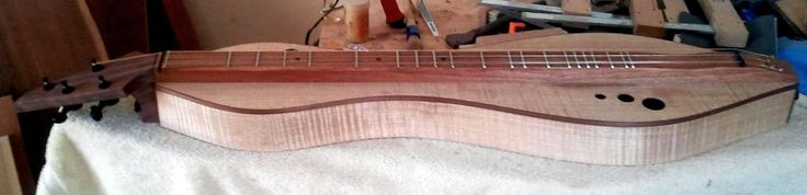 Dulcimer Maker Doug Berch #143 - side