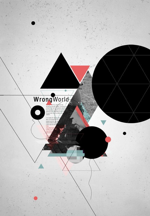 Wrong World by angraphics.  Like the minimal yet abstract feel to this. Interesting use of simple shapes.
