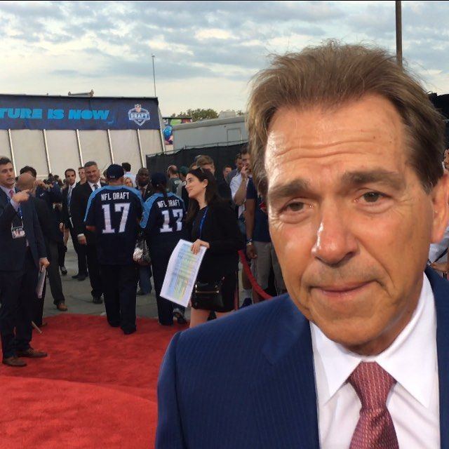 Thanks To Alabama Head Coach Nick Saban For The Interview https://youtu.be/UcCnpMiyaAw