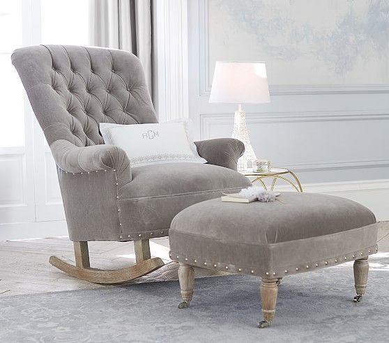 Radcliffe Rocking Chair Ottoman Rocking Chair Nursery