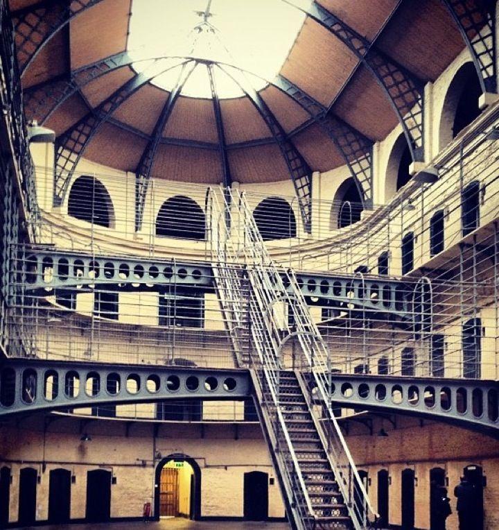 Kilmainham Goal: Jail used to hold political prisoners.