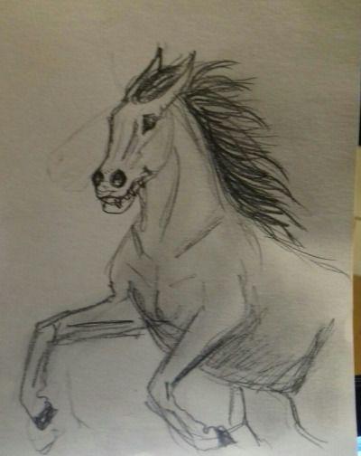 #capall uisce #the Scorpio races #my art #K.R.