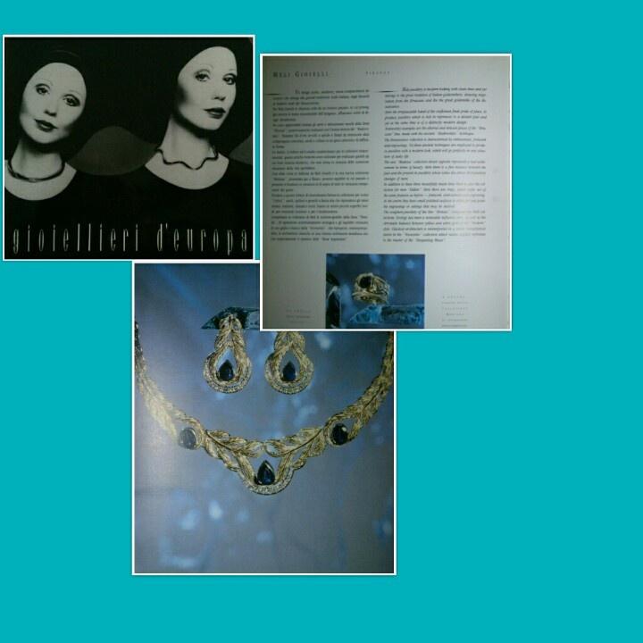 "#Meli #Gioielli #Firenze su ""#Gioiellieri d'Europa"" 1990 - #MeliGioielliFirenze on ""#Jewellers of #Europe"" #1990"