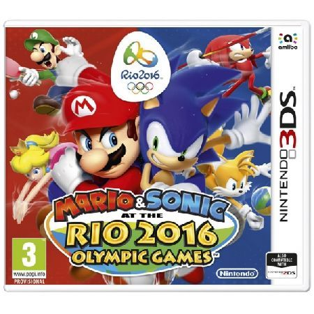 Mario and and Sonic At The Rio Olympic Games 3DS Take the rivalry on the road with supercharged Olympic events like Football and Table Tennis in the Nintendo 3DS version or see if you39
