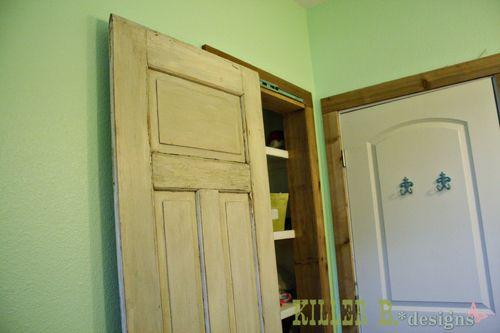 281 best diy doors images on pinterest diy door decor for Hidden sliding screen door