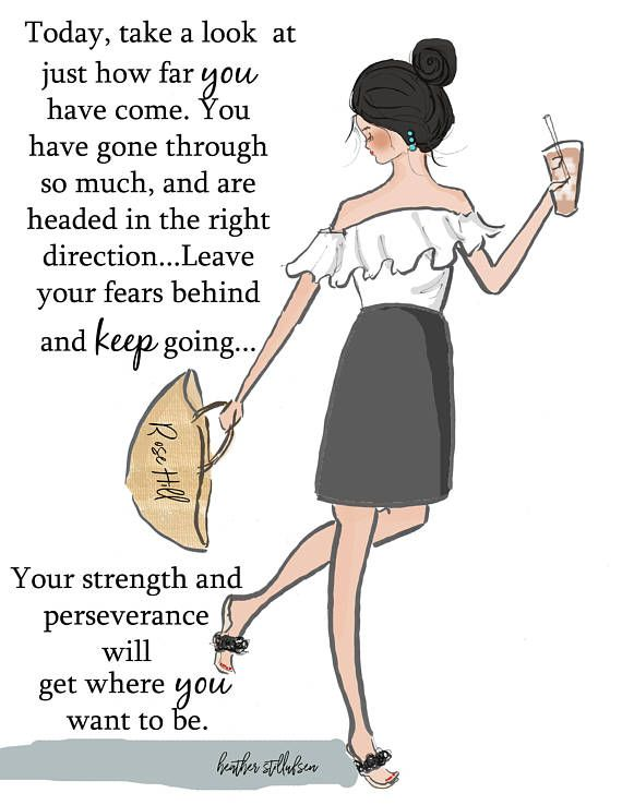 Wall Art for Women Take A Look At How Far You Have Come