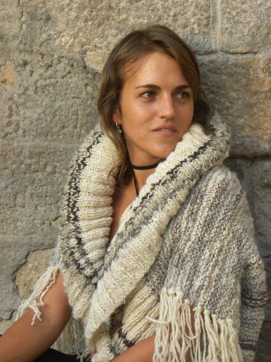 capas tejidas con lana de oveja natural   Lanas del sur del Mundo ...