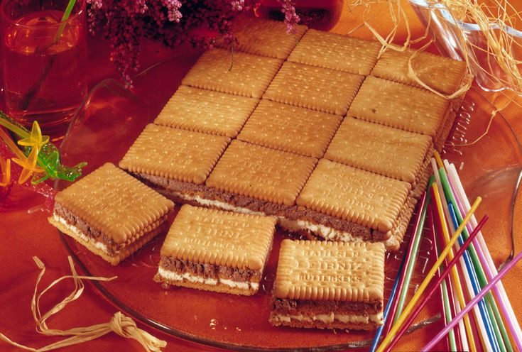 Deser z herbatników