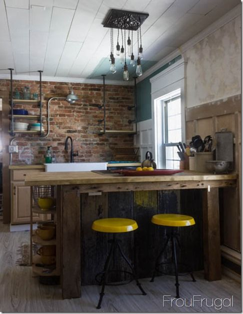 83 best URBAN INDUSTRIAL KITCHEN images on Pinterest