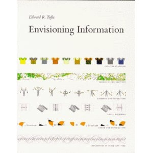 I attended a lecture with Tufte and loved every second. He is getting old but his mind is young, fresh, and inspiring.
