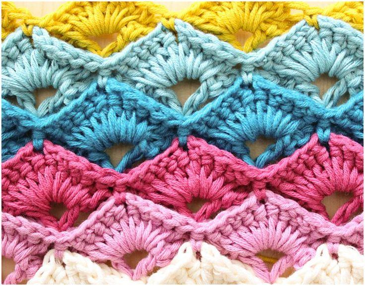 Elegant Box Stitch Crochet – Tutorials