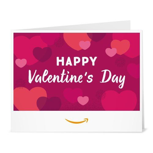 Amazon Gift Card - Print - Valentines Hearts