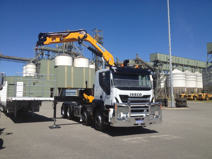 CBH Stralis Crane Truck built by WA IVECO