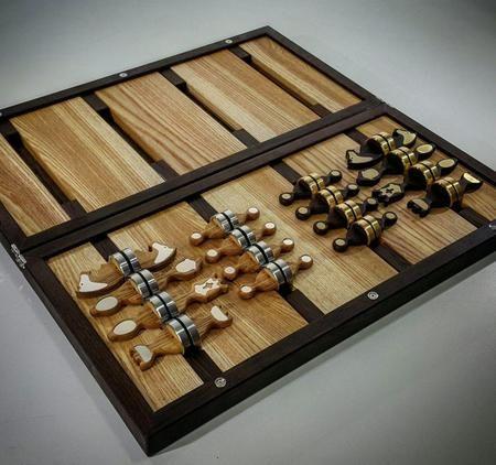 Шахматы с Инициалами именинника мужчины купить в Москве как подарок другу на…
