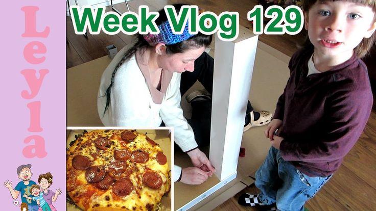 Ikea Meubels in elkaar zetten met Peuter 🔨| Domino's Glutenvrije Pizza r...
