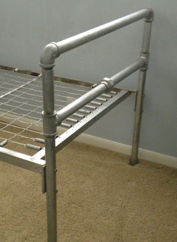 Industrial Metal Pipe Twin Bed By Casitachic On Etsy Diy