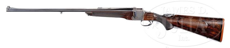 EXCEPTIONALLY FINE, HIGH ORIGINAL CONDITION DANIEL FRASER BEST QUALITY FALLING BLOCK TAKEDOWN RIFLE WITH CASE.
