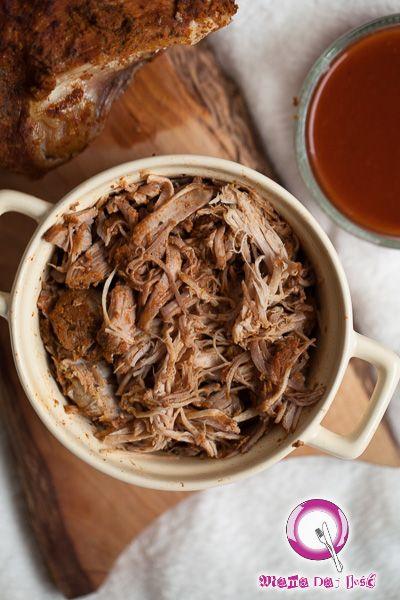 .Pulled pork z sosem BBQ