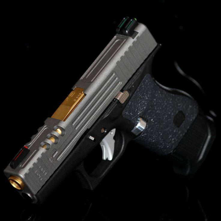 Glock 43 custom design   Slide Machining   Pinterest ...