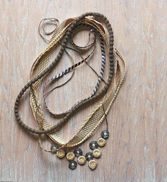 Ribbons & Cords, Martha Stewart Living – March Issue #Jewelry #Crafts