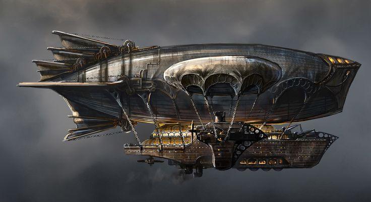 GrandAirship GreyEmpire LanternCity www.LanternCityTV.com