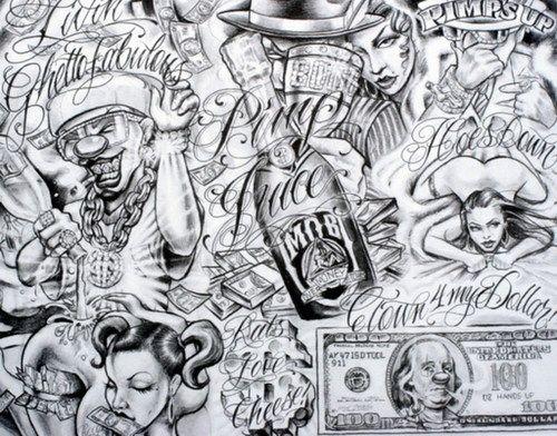 Mr. Cartoon Tattoo Flash | Tattoos by Boog http://www.checkoutmyink.com/tattoos/sandman700/boog