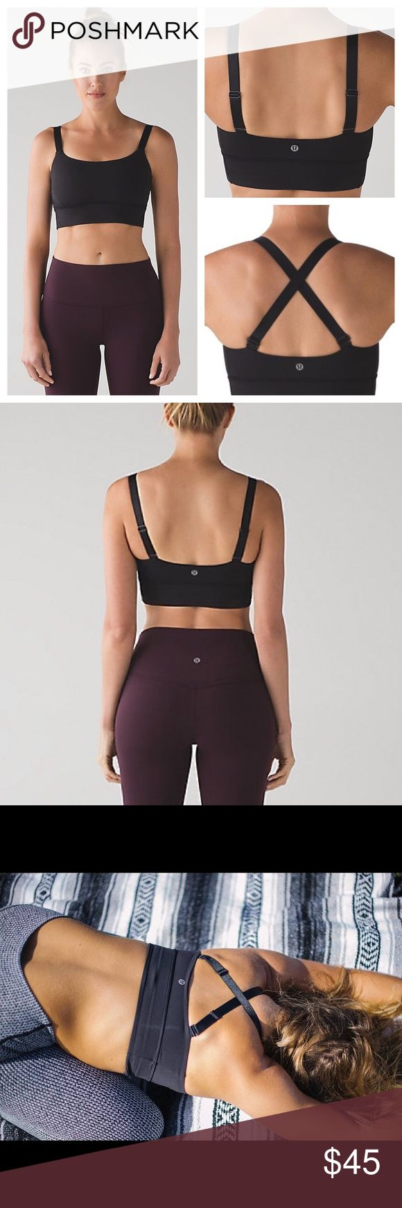 NWT Lululemon Both Ways Padded Convertible Bra Convertible Bra brand new with tags. No flaws. Luxtreme material. Smoke free pet friendly home. lululemon athletica Intimates & Sleepwear Bras