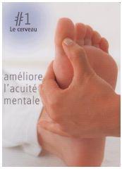 Reflexologie des pieds : Le point réflexe du cerveau améliore l'acuité mentale