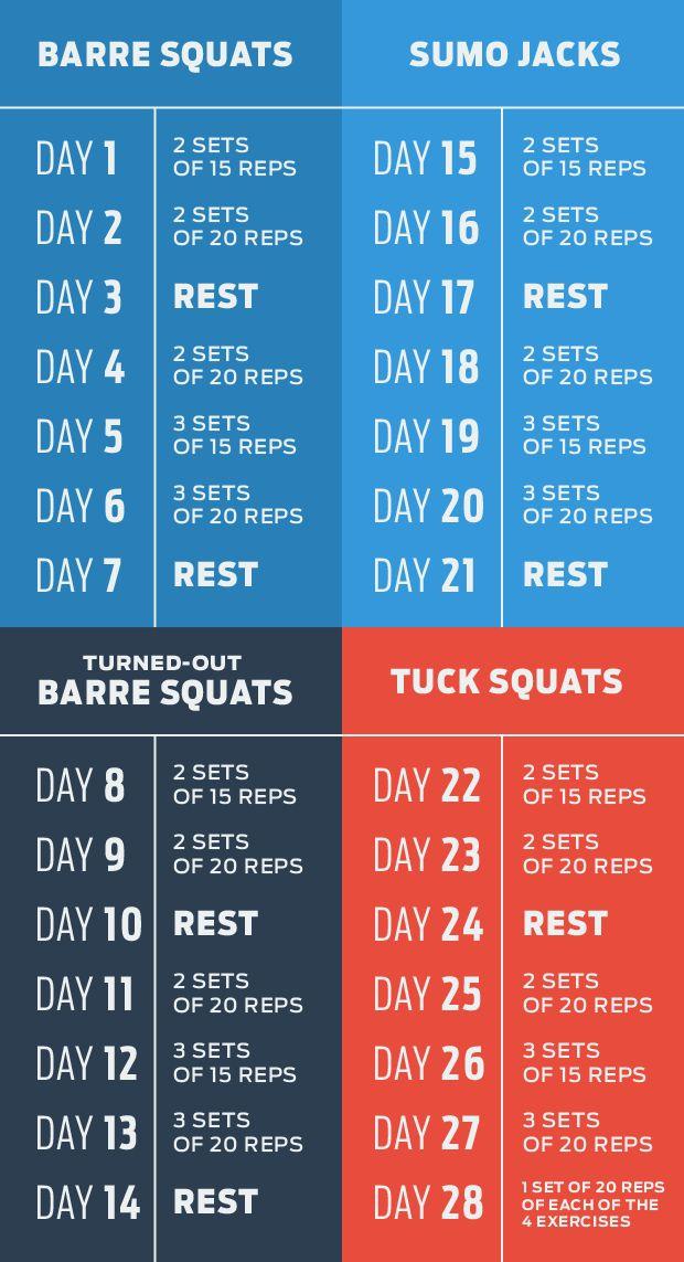 The 4-Week Squat Plan | Workout | Think