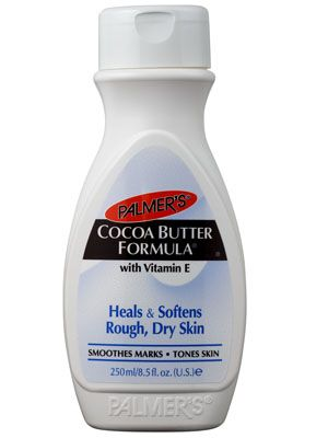Palmer's Cocoa Butter Formula...Been using for over 20 years...Have lost 40 plus pounds several times and have not stretch marks thanks to this awesome moisturizer!