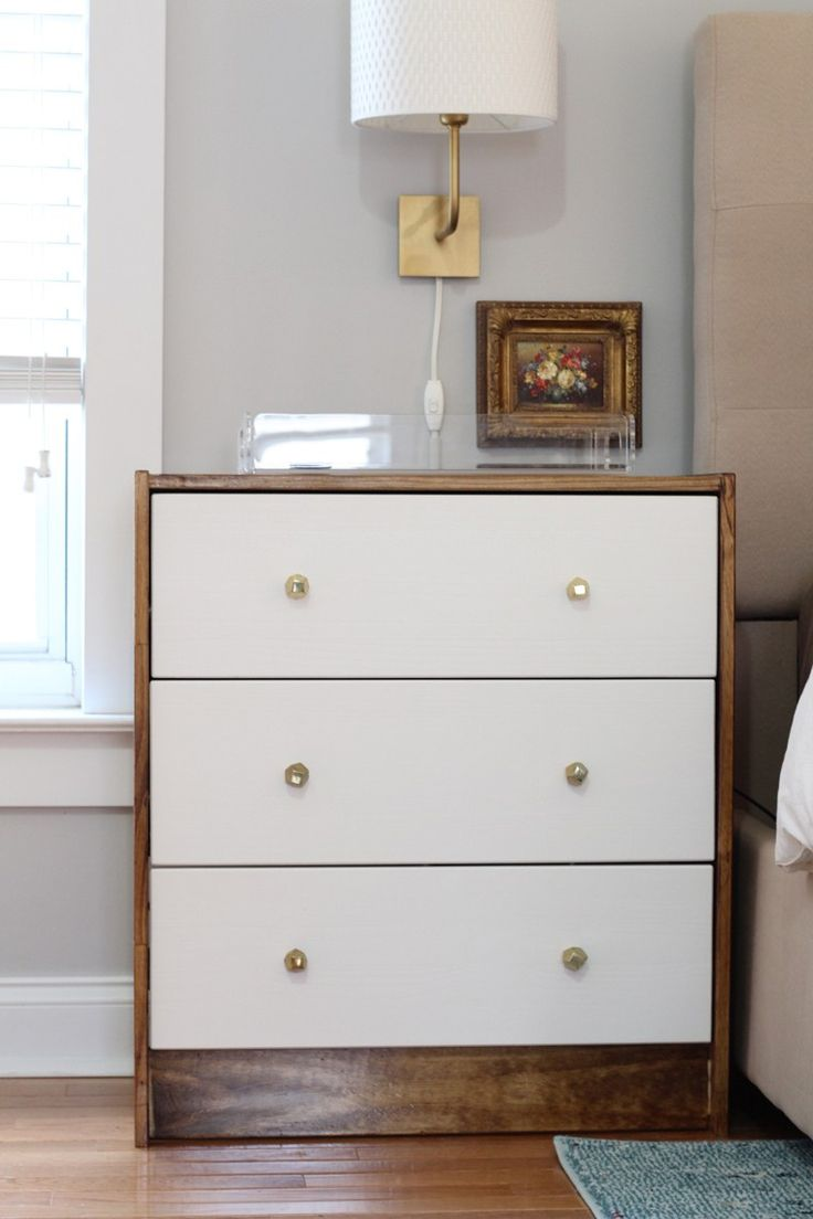 17 best ideas about 3 drawer chest on pinterest 4 drawer for Comoda rast ikea