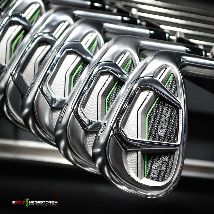 Aerospace grade materials. Laser-welded parts. Precision milling. The new #Callaway #Epic Irons push the boundaries of what's possible.Get custom fit by one of our #PGA Professionals  in store on any of our #XGolf #GC2 #TrackMan4 or #FlightScope launch monitor technologies ⛳️♀️#Callaway #CallawayGolf #EpicIrons #NewLaunch #golf #golfshopdubai #golfuae #golfshopuae #FreeCustomFitting #golfdubai #eGolf