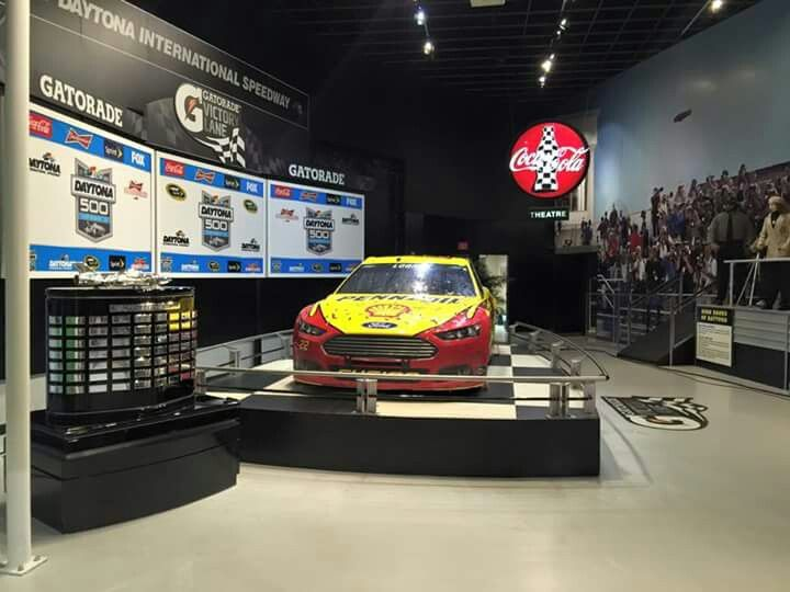 #22 at the Daytona 500 experience